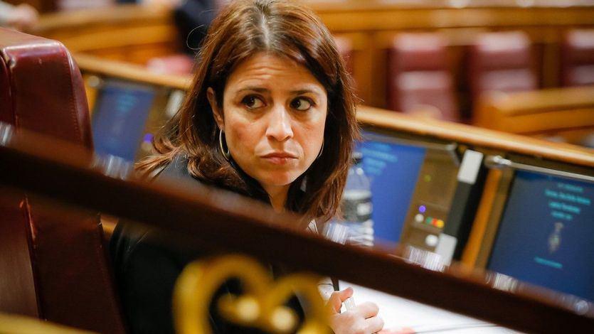 El 'lapsus' de Adriana Lastra sobre el Código Penal