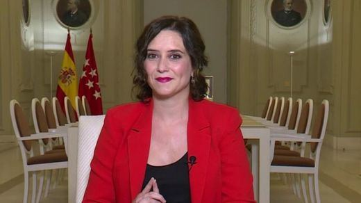 Ayuso insiste en descartar el confinamiento para Madrid y pide al Gobierno 'colaboración y coordinación'