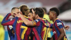 El Barça olvida a Luis Suárez con una goleada y una fiesta de Ansu Fati (4-0)
