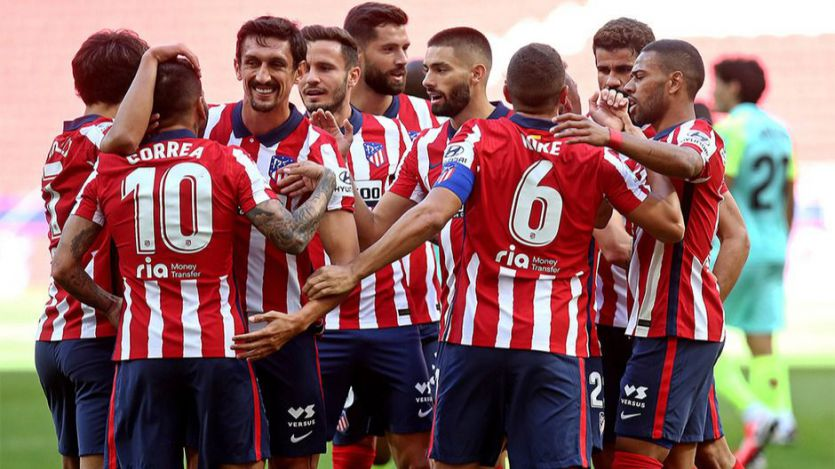 Set y partido para un Atleti de fiesta en el debut de Luis Suárez (6-1)