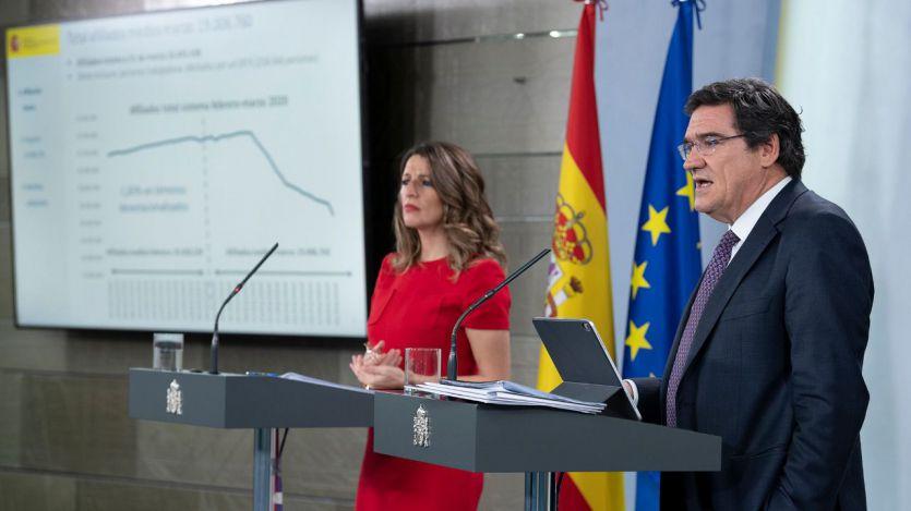Gobierno, patronal y sindicatos cierran la renovación de los ERTE hasta el 31 de enero