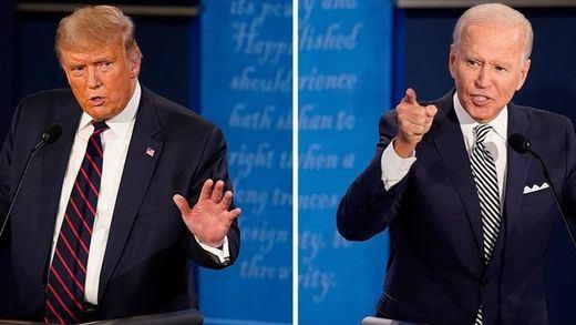 Bochornoso debate electoral EEUU: Biden cae en la trampa de Trump y entra en el fango