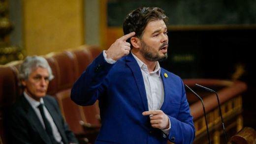 Rufián: el Rey es un diputado más de Vox y recuerda a Franco como
