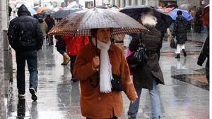 La borrasca 'Alex' llega al norte de España con precipitaciones y bajada de temperaturas