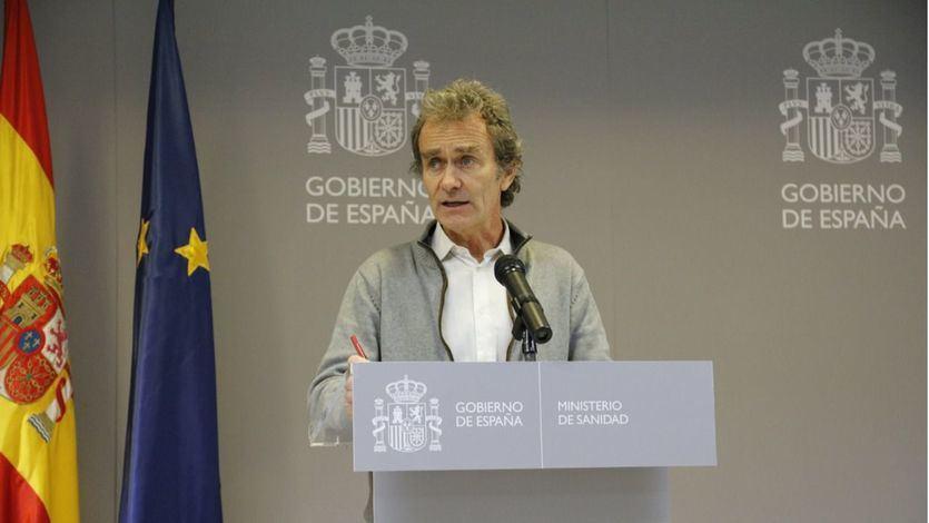 El llamamiento de Fernando Simón a la población de Madrid para 'estabilizar la situación'