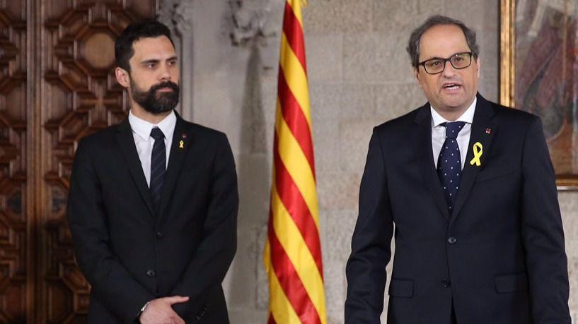 Las nuevas elecciones catalanas serán el 14 de febrero, según Roger Torrent