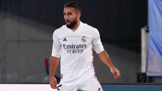 El Madrid pierde a Carvajal durante al menos 2 meses y el recuperado Odriozola tendrá su momento