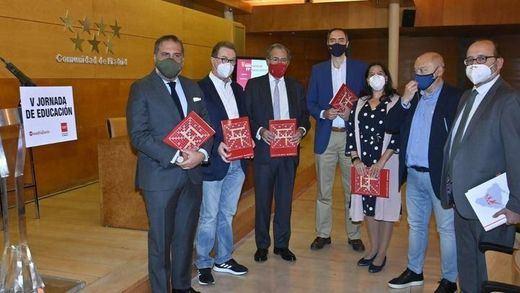 Algunos de los ponentes de la V Jornada de Educación de Madridiario