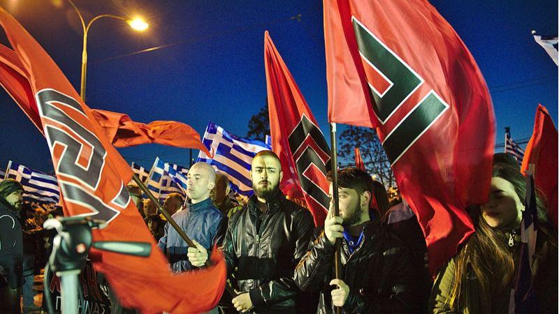 Amanecer Dorado, declarado organización criminal por la justicia griega