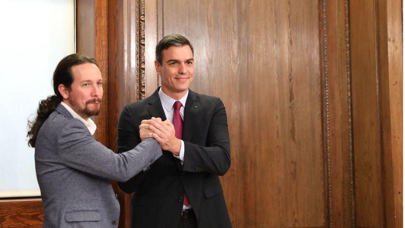 Sánchez traslada su apoyo a Iglesias tras la petición del juez del 'caso Dina' al Supremo