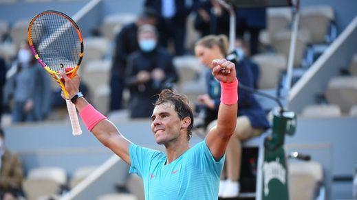 Nadal disputará su decimotercera final de Roland Garros