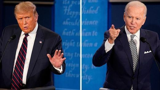 Oficialmente anulado el segundo debate electoral entre Trump y Biden
