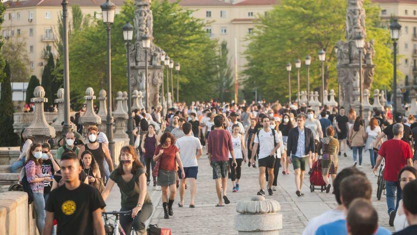 Madrid vive el primer día tras la declaración del estado de alarma sin apenas cambios