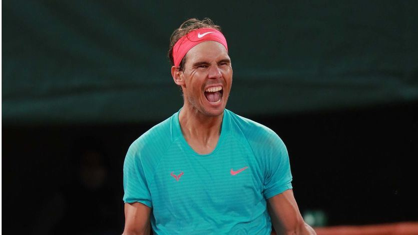 Nadal, el 'rey de Roland Garros', iguala el récord de 20 Grand Slam de Federer