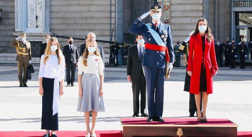 La Fiesta Nacional, sin desfile militar y marcada por el coronavirus y la crispación política