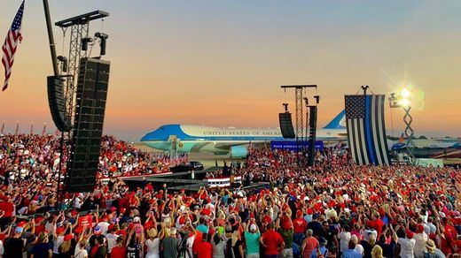 'Os voy a besar a todos': el polémico regreso de Trump a la campaña tras la covid-19
