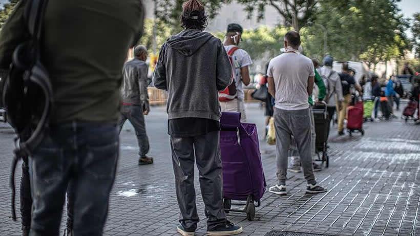 El coronavirus podría provocar 1,1 millones más de personas en situación de pobreza en España