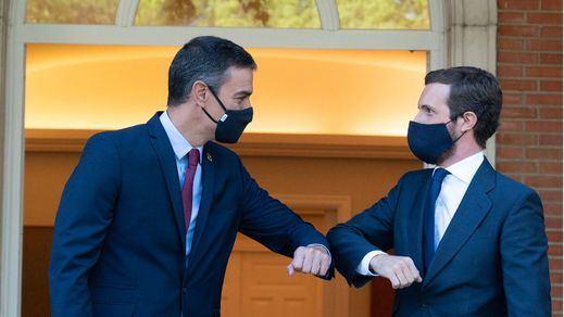 Casado califica a Sánchez de presidente 'fallido' y él tacha a los populares de partido antisistema