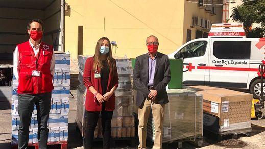 Mercadona dona a Cruz Roja Móstoles más de 5.700 kilos de alimentos de primera necesidad