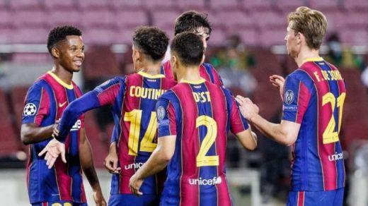 El Barça arranca con buen pie en la Champions cenándose al modesto Ferencvaros (5-1)