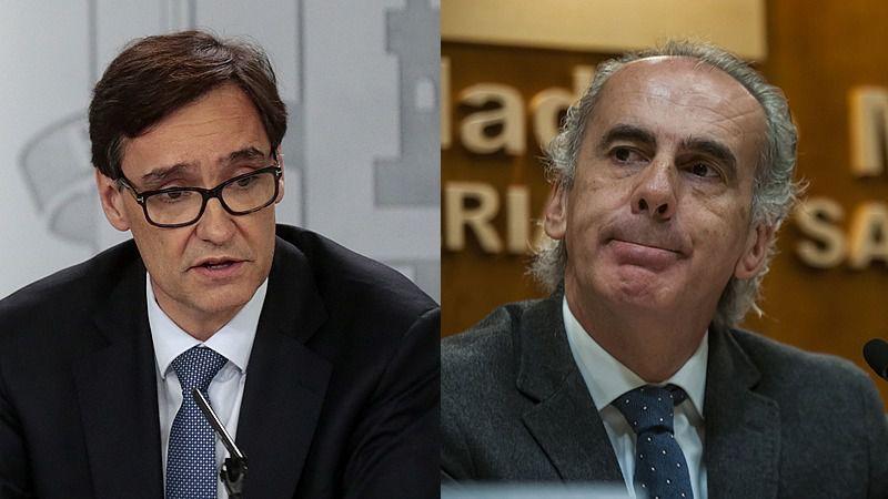 Illa confirma la mejoría en Madrid y adelanta que el cierre perimetral 'va a quedar levantado'