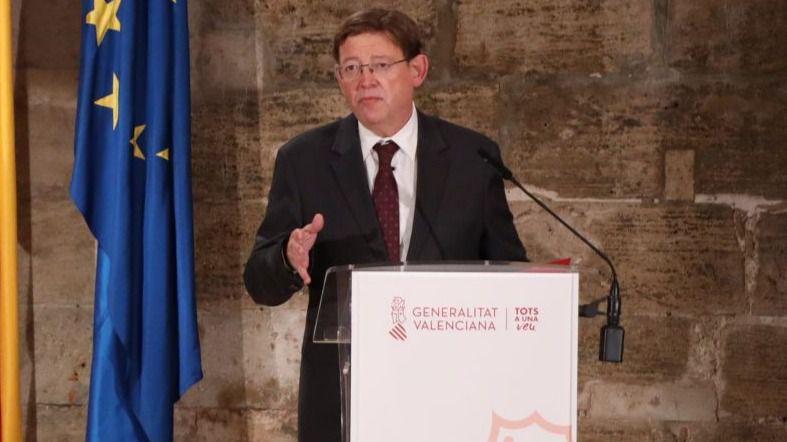 Puig estudia el encaje legal del toque de queda para confinar por las noches la Comunidad Valenciana