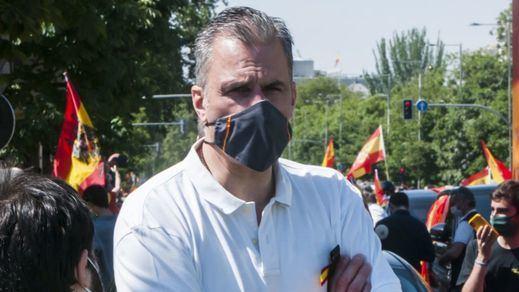 Ortega Smith acusa a Ciudadanos de poder facilitar una moción de censura contra Ayuso