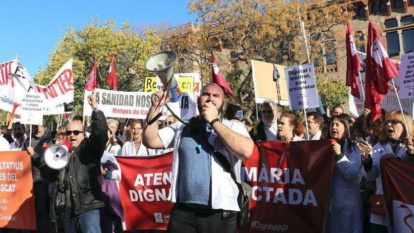 Comienza la primera huelga general de médicos en 25 años