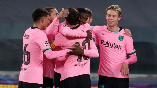 Un Barça ya sin Bartomeu ilusiona en Europa con un gran triunfo ante la Juve (0-2)