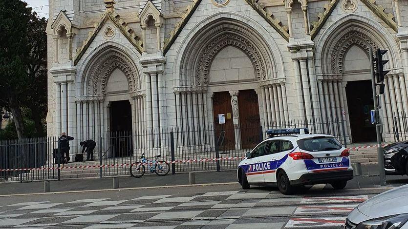 3 muertos y varios heridos en un ataque con cuchillo en la Iglesia de Notre Dame de Niza