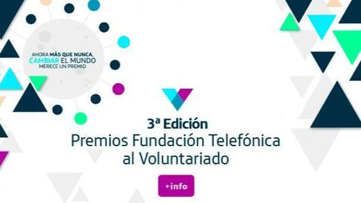 Fundación Telefónica recibe 400 candidaturas a sus premios al voluntariado con especial foco en proyectos frente al coronavirus