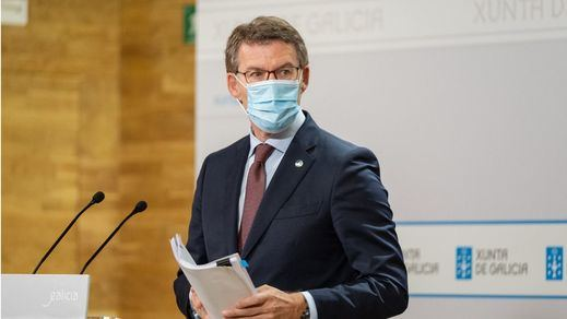 Feijóo anuncia una ley para adoptar restricciones por la pandemia sin recurrir al estado de alarma