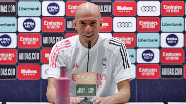 Zidane, optimista con Hazard: 'Está bien, entrena bien y estamos contentos por eso'