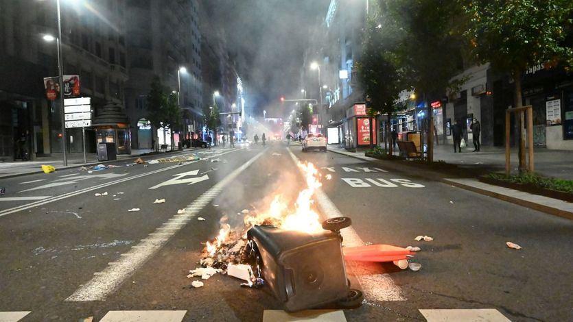 Iglesias acusa a la ultraderecha de promover los disturbios en todo el país por las medidas contra la pandemia