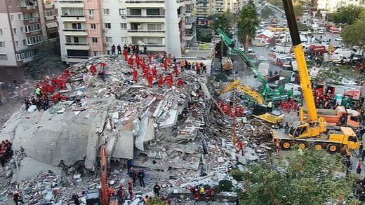 El terremoto de Turquía deja ya al menos 62 víctimas mortales