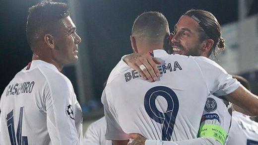 El Madrid sobrevive en Europa tras superar el primer match-ball ante el Inter (3-2)
