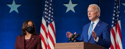 Biden espera una victoria contundente: