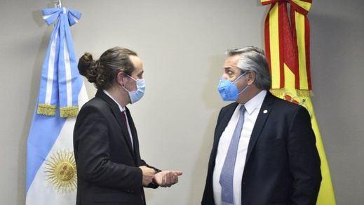 Pablo Iglesias promueve desde Bolivia el manifiesto 'contra el golpismo de ultraderecha'