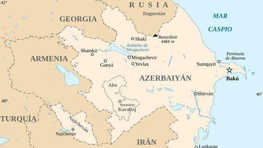 Azerbaiyán y Armenia acuerdan poner fin a los combates: 'alto el fuego total'