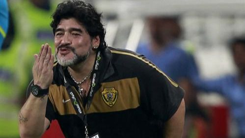 Maradona evoluciona bien y podría recibir el alta esta semana