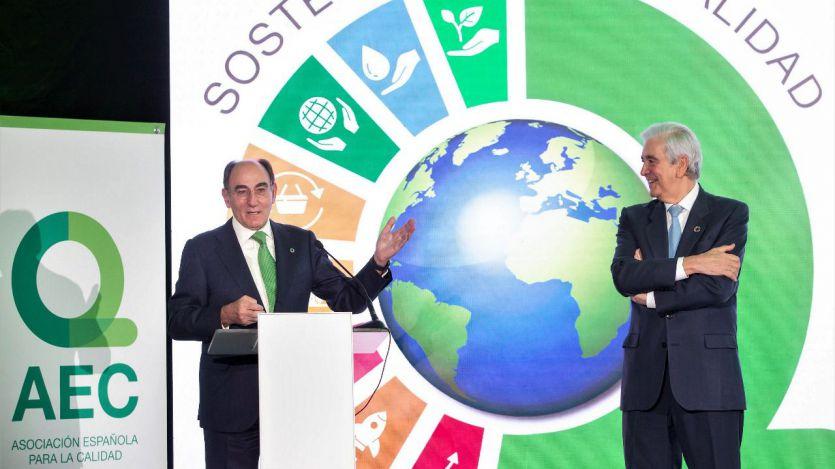 Premio AEC para el presidente de Iberdrola, Ignacio Galán
