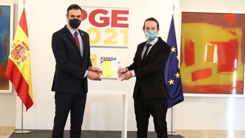 El PSOE y Podemos rectifican y congelan el sueldo del Gobierno en 2021