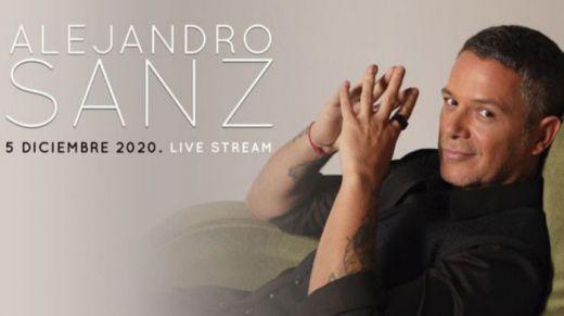 Alejandro Sanz regresa a los escenarios de forma virtual el 5 de diciembre