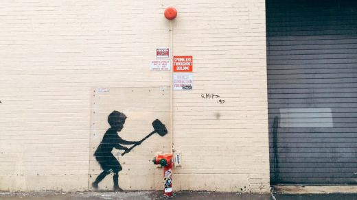 El Círculo de Bellas Artes de Madrid alberga una gran exposición sobre Banksy