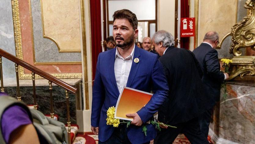 ERC anuncia un 'preacuerdo' con el Gobierno que garantiza la aprobación de los Presupuestos