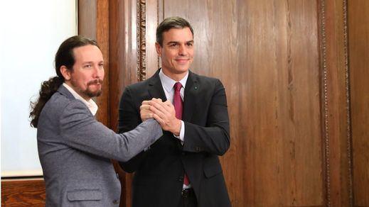 Sánchez cede ante Iglesias respecto a la gestión de los fondos europeos