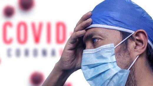 Sanidad registra 537 fallecimientos, un nuevo récord en la cifra diaria en la segunda ola
