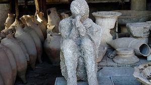 Descubren en Pompeya 2 nuevas víctimas de la erupción del Vesubio