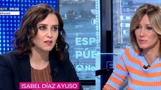 Ayuso defiende la fiscalidad madrileña: