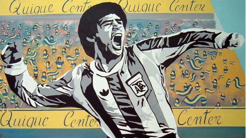 Grafiti de Maradona